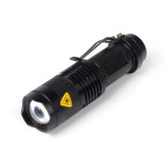 Situs Review Super Terang Cree Q5 1200 Lumen Zoomable Senter