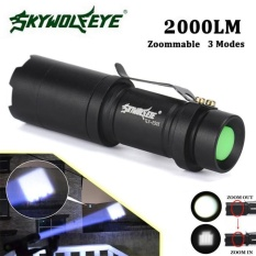 Beli Super Bright Zoomable 2000Lm Cree Q5 Aa 14500 3 Mode Led Senter Internasional Oem Online
