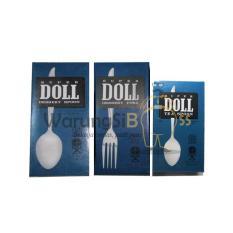 Sendok Set DAIMARU 24Pcs Hijau . Source · WarungSiBoss Super Doll Paket Sendok Makan, Garpu Makan, & Sendok Teh Stainless Steel Tebal