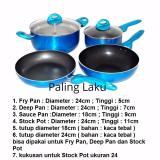 Perbandingan Harga Supra Rosemary Cookware Supra Panci Set 7Pcs Biru Di Dki Jakarta