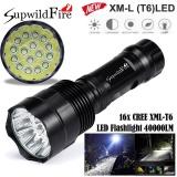 Beli Supwildfire 40000Lm 16X Xml T6 Led 5Mode Led Flashlight Torch Light Lamp Intl Cicil