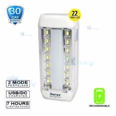 Surya Lampu Emergency SQL L2207x Light LED 22 SMDRechargeable