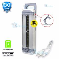 Toko Surya Lampu Emergency Sql L801 Frosted Light Led 58Smd Rechargeable 8 Hours Terdekat
