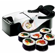 Sushi Maker Roller Equipment Perfect Roll Sushi Mesin DIY Mudah Kitchen Magic Gadget Dapur Aksesoris-Intl