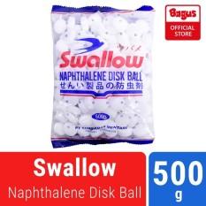 Bagus Swallow Naph Kamper Pakaian Anti Bau 500g Putih
