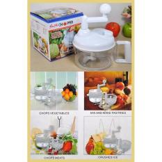 SWIFT CHOPPER Alat Dapur Khusus Penggiling Manual Buah-Buahan dan Sayur-Sayuran Food Processor