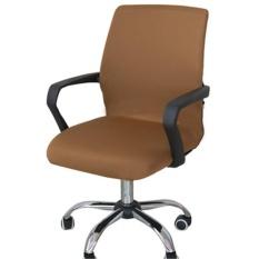 Swivel Komputer Sarung Kursi Stretch Kantor Kursi Protector Seat Decoration (kursi Tidak Termasuk)-Intl