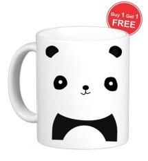 Sz Graphics Gelas Mug Baby Panda Putih Sz Graphics Diskon 30