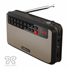 Toko T60 Radio Mp3 Claus Mini Speaker Stereo Portable Walkman Intl Dekat Sini