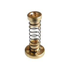 Jual T8 Anti Backlash Spring Loaded Nut Penghapusan Gap Nut Untuk 8Mm Acme Threaded Rod Lead Screws Diy Cnc 3D Printer Bagian Intl Online Tiongkok