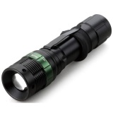 Tactical Flashlight Mini Senter Xpe Led 320Lumens W 36 Black Diskon Akhir Tahun