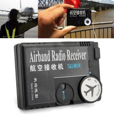 Diskon T L001 118Mhz 136Mhz Aaa Plastic Black Air Band Radio Aviation Band Receiver Intl Not Specified Di Hong Kong Sar Tiongkok