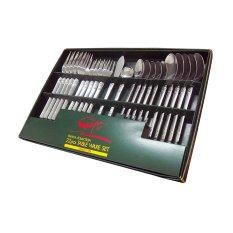 Beli Tanica Flora Sendok Garpu Set 22 Pieces Stainless Steel Cicil