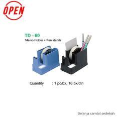 Tape Dispenser / Tempat Isolasi Lakban Open TD-60U