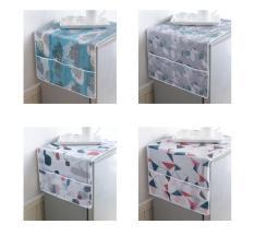 Taplak kulkas alas kulkas dengan kantong penyimpanan di 2 sisi HPD030 Terbaru
