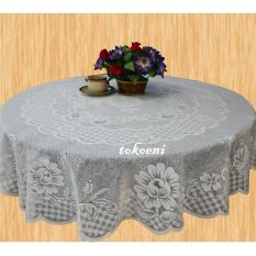 Beli Taplak Meja Makan Tamu Bulat Tablecloth Round 180 Cm 1150 Warna Putih Terbaru