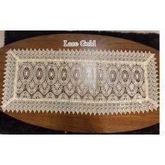 Spesifikasi Taplak Meja Tamu Lace Gold 45X90Cm Lengkap