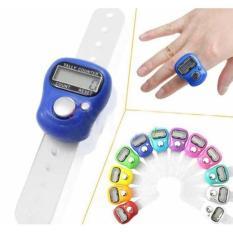 Tasbih Digital Mini Finger Counter Penghitung Digital Tally Jari Ngaji - Merah
