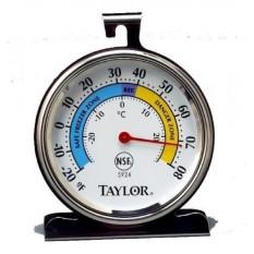 Taylor Presisi Produk Seri Klasik Besar Tombol Penyetel Termometer (Pembeku/Kulkas)-Set 2-Internasional
