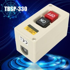 TBSP-330 3 Phase 3.7Kw 30A Power Push Button Switch Station ON/OF Lock Tend - intl