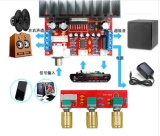 Beli Tda7377 Amplifier Diy Kit Daya Tunggal Komputer Super Bass 2 1 Power Amplifier Board 3 Suara Saluran Amplifier Tda7377 Diy Suite Intl Nyicil