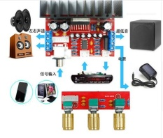 Tda7377 Amplifier Diy Kit Daya Tunggal Komputer Super Bass 2 1 Power Amplifier Board 3 Suara Saluran Amplifier Tda7377 Diy Suite Intl Diskon Akhir Tahun