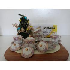 Tea Set - Cangkir Dan Lepek - Cup & Saucer Y85 Vicenza - Zxmnip
