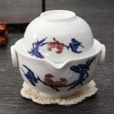 Jual Tea Set Termasuk 1 Pot 1 Cup Kualitas Tinggi Elegan Gaiwan Beautiful Teapot Intl Online Indonesia