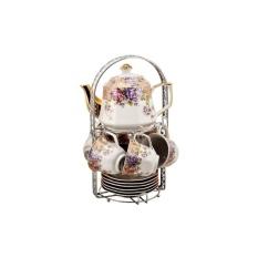 Perbandingan Harga Tea Set Segi Delapan Vicenza C78 Plus Teko Cantik Motif Magnolia Vicenza Di Indonesia