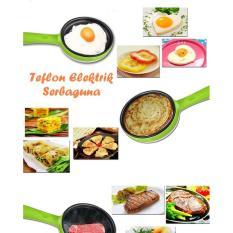 Teflon Elektrik Serbaguna (Bisa masak di kantor, toko, hotel, kost)