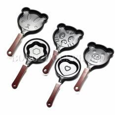 Teflon Mini Non Stick Frying Fry Pan - Wajan Masak Karakter Motif Anti Lengket Wajan Pengoreng Telur - Random 1 Pcs