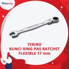 Tekiro Kunci Ring Pas Ratchet Flexible 17 mm / Flexible Gear Wrench