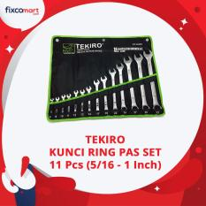 Jual Tekiro Kunci Ring Pas Set 11 Pcs 5 15 1 Kunci Kombinasi Kunci Ring Pas Inch Di Dki Jakarta
