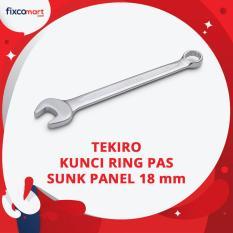 Harga Tekiro Kunci Ring Pas Sunk Panel 18 Mm Combination Wrench Asli