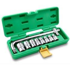 Ulasan Tentang Tekiro Kunci Sok 1 2 Inchi Set 10 Pcs 8 24 Mm 12Pt Box Plastik