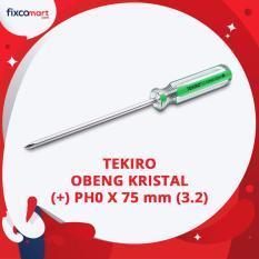 Tekiro Obeng Kristal (+) PH00 X 75 mm (3.2) / Obeng Plus