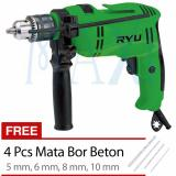 Maxitools Tekiro Ryu 13 Mm Impact Drill Mesin Bor Beton 13 Mm Mark I Rid 13 1 Re Promo Asli