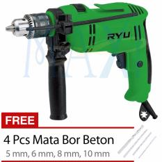 MAXITOOLS - Tekiro Ryu 13 mm Impact Drill - Mesin Bor Beton 13 mm Mark I - RID 13-1 RE (Promo)