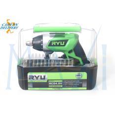 MAXITOOLS - TEKIRO RYU Mesin Cordless Drill / Driver - Bor / Obeng tanpa kabel - RCD 4,8V