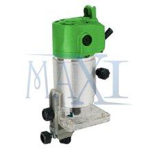 MAXITOOLS - Tekiro Ryu Wood Trimmer - Mini Router - Mesin Profil Kayu Mini 6 mm - MARK I (Metal Body) - RTR 6-1