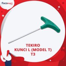 Tekiro T Shape Hex T3 / Tekiro Kunci L Model T