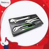 Spesifikasi Tekiro Tool Tray Kunci Inggris 3 Pcs Tang Burung Tang Buaya Bagus