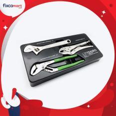 Situs Review Tekiro Tool Tray Kunci Inggris 3 Pcs Tang Burung Tang Buaya