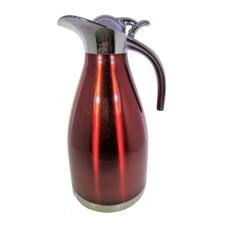 Teko Stainless Steel 2 Liter - Termos Vacuum Coffee Pot 2 Liter - Babamu - Merah