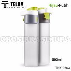 Teloy Botol Minum Olahraga Bisa Semprot Spray Drink Bottle Sport Tny 9603 590Ml Paling Laku Diskon 30