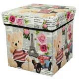 Spesifikasi Tempat Menyimpan Barang Mainan Buku Majalah Container Wadah Penyimpanan Multifungsi Box Organizer Serbaguna Bear Rose Dan Harga