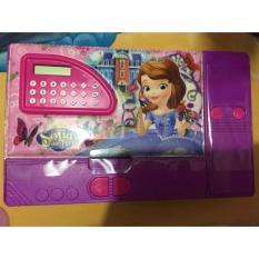 Tempat Pensil/Pencil Case Magnet/Kotak Pensil jombo (Kalkulator) cewek / cowok