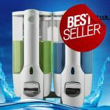Spesifikasi Premium Box Tempat Dispenser Sabun Dan Shampo Cair 2 In 1 With Key Lock Fast Respone Packing Aman Baru
