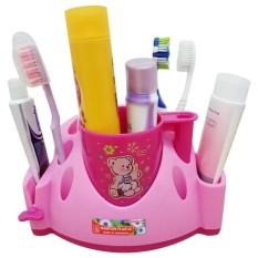 Tempat sikat gigi dan alat mandi keluarga serbaguna Merk Maspion Plast - Random colour