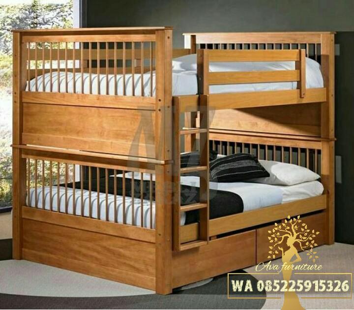 Tempat tidur anak, Ranjang susun 01 AVA FURNITURE